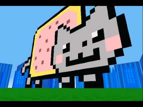 Nyan cat on Lego Creator