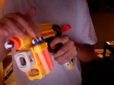 How to make dart holders for your nerf gun