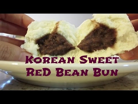 Korean Red Bean Bun- VLOG