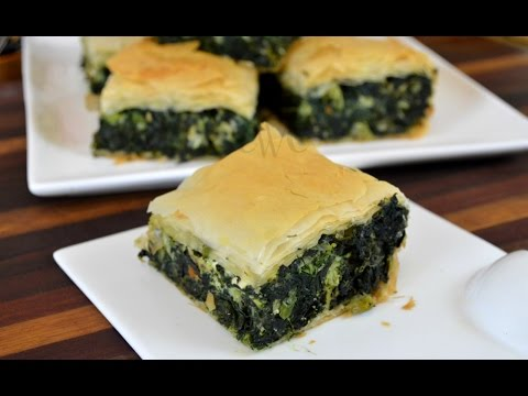 Spanakopita  Greek Spinach Pie Recipe   How to Use Phyllo Pastry Sheets  Cooking With Carolyn