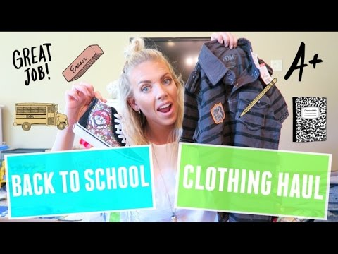 🎒 Back To School Clothing Haul for BOYS 👦🏼