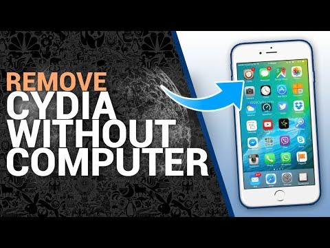 How To Remove CYDIA From iPhone Without COMPUTER/Laptop IOS 9,10,11 (2017/2018)