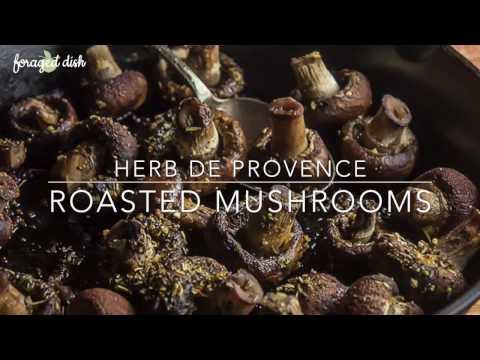 Easy Herb De Provence Mushrooms