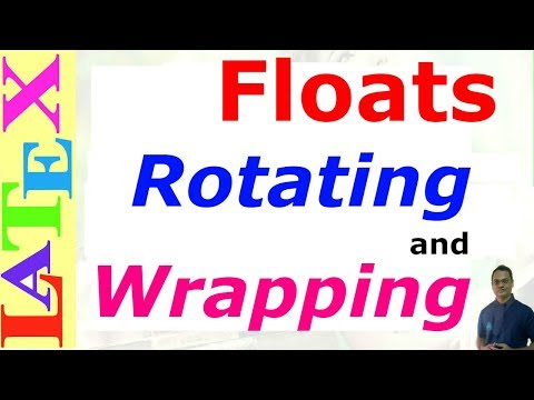 Floats Rotating and Wrapping in LaTeX (LaTeX: Tips/Solution-29)