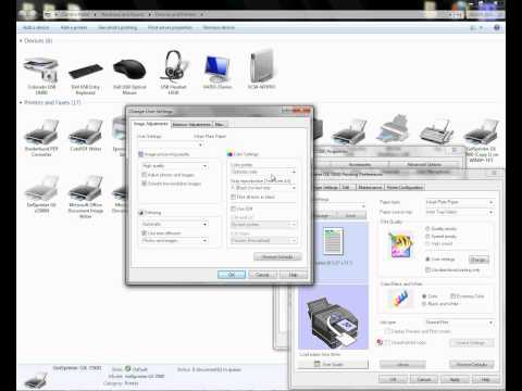 How to Add a Printer Using TCP/IP and Configure the Conde ICC Profile -