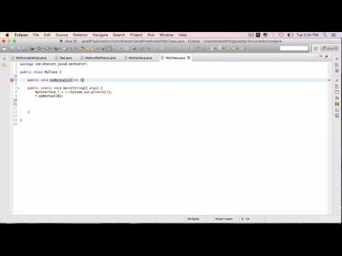Java 8 Features Part 21 - Referencing an  Instance Method