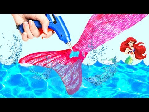 DIY HOW TO MAKE A SWIMMABLE MERMAID TAIL FOR UNDER $20