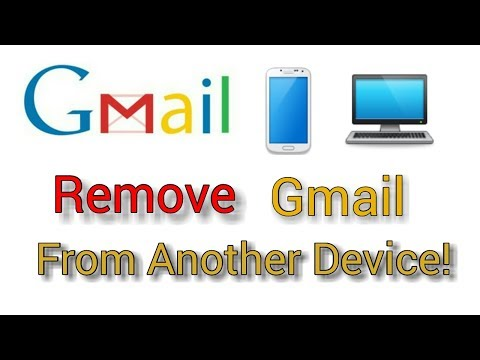How to remove Gmail Login into another device.[bangla tutorial]