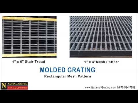 Molded FRP vs Pultruded Grating