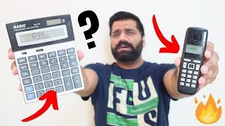 Smartphone - Telephone - Calculator   A Crazy Difference🔥🔥🔥