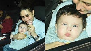 Kareena Kapoor Son Taimur Ali Khan Attends Tusshar Kapoor Son Lakshya Birthday Party