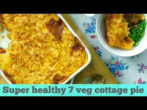 Super healthy 7 veg cottage pie | UK Stay at Home Mum
