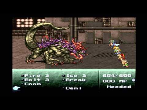 Final Fantasy VI - Boss: Atma