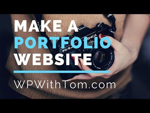 How to Make a Portfolio Website in Wordpress 2016