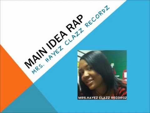 Main Idea Rap