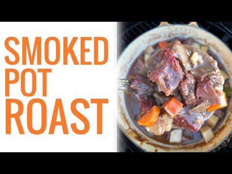 Hickory Smoked Chuck Beef Pot Roast