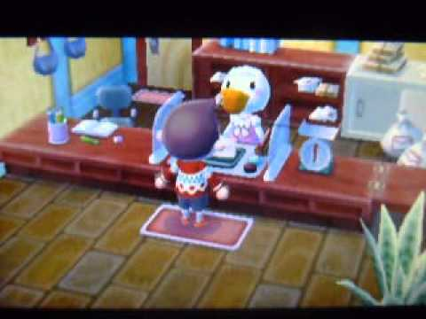 Animal Crossing: New Leaf: Bella and Fishing Rod