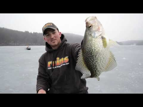 Ice Fishing for Crappie with Tungsten and Soft Plastics