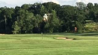 Modern Dream 18 arrives at Hamilton Farm Golf Club to play the 18th hole
