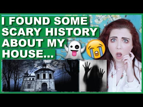I Found Some SCARY History About My House