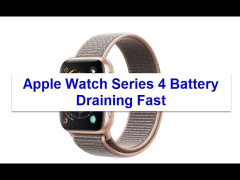 Apple Watch Series 4 Battery Draining Fast (Fixed)