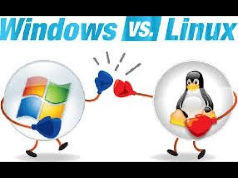 Difference Between Linux & Window OS, Video No - 1