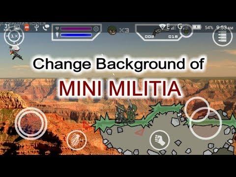 [Malayalam] Change MINI MILITIA Background Image | No root required | Tech one malayalam