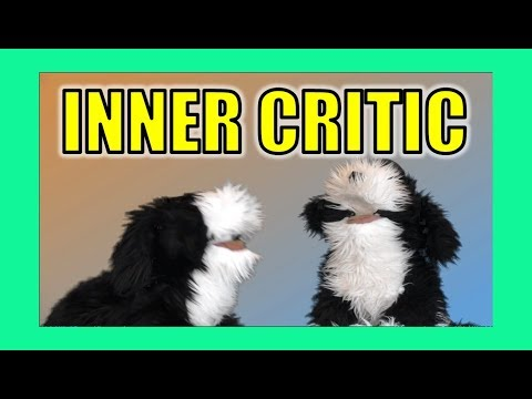 Inner Critic:  George the Self Esteem Cat