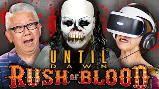 SCARY CLOWNS! | Until Dawn: Rush of Blood (PSVR | Elders React Gaming)