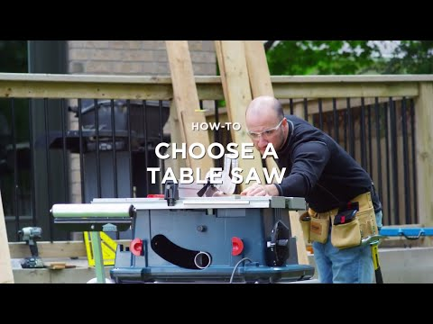 How to Choose a Table Saw (3 Steps)