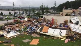 Tornado damage in Fairfield