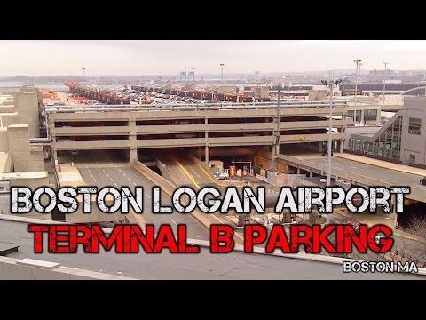 Tour of Boston Logan Airport | Terminal B Parking Garage - Boston MA
