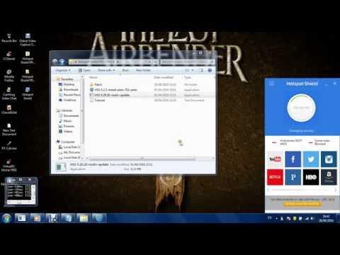 Cara Menginstall Crack VPN Hotspot Shield Elite 5.20 Full Version