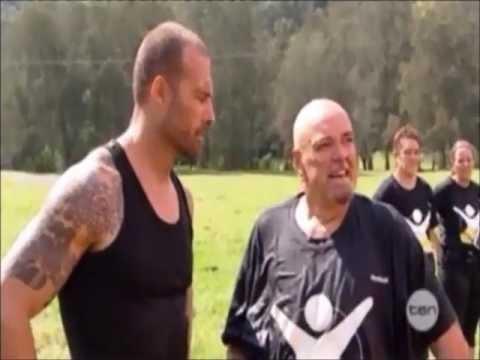 Biggest Loser Australia 2012 Trainer/Contestant Challenge Part 3