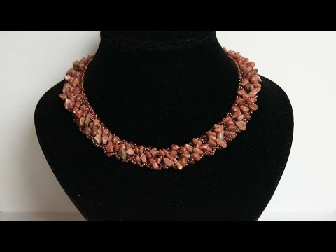 How To Make A Necklace With Natural Stones - DIY Crafts Tutorial - Guidecentral