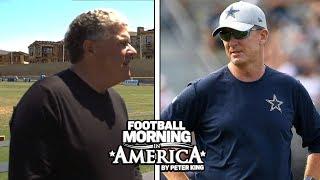 Jason Garrett updates on Ezekiel Elliott situation, Jason Witten at camp | NBC Sports