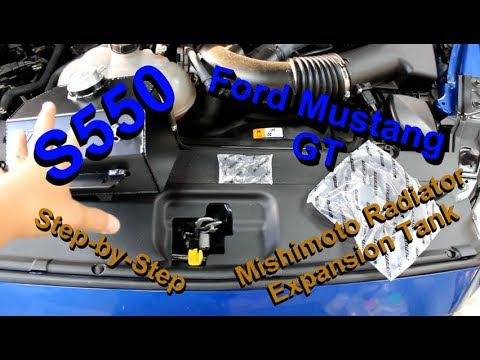 Ford Mustang: Mishimoto Radiator Overflow Install