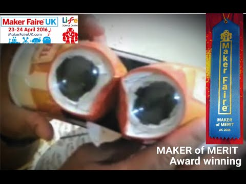Make Your VR 3D Lenses and headset from a Bottle and Cups