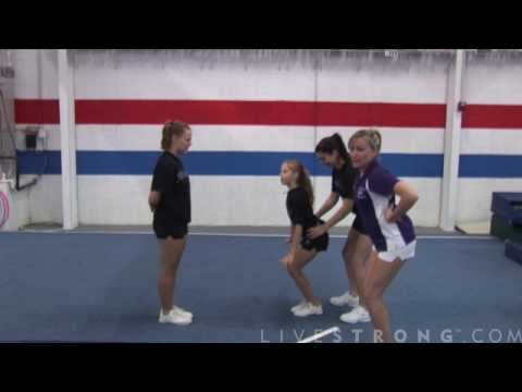 How to Do Basket tosses in Cheerleading