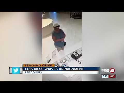 Lois Reiss waives arraignment