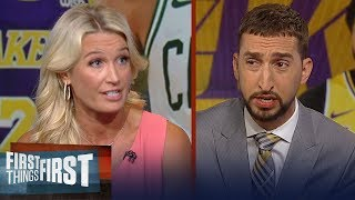 Celtics made the right decision not trading Tatum for AD - Sarah Kustok   NBA   FIRST THINGS FIRST