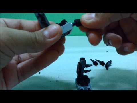 LEGO Build Tutorial: Skylanders Trap Team BLACKOUT