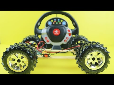 How to Make a RC Car at Home Easy - Remote Controlled Car | RC Car DIY Toy for Kids