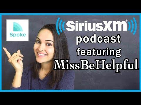 MissBeHelpful featured on Sirius XM Podcast!!!! (+ FIRE Update)