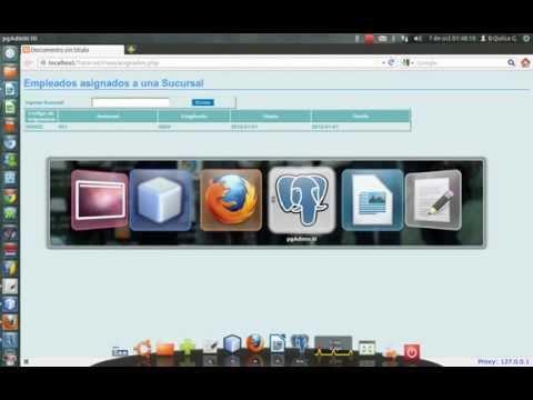 Php y PostgreSQL en Linux Ubuntu 12.04