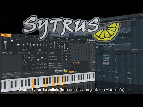 Sytrus | Olbaid Sytrus Essentials (free download, see video info)