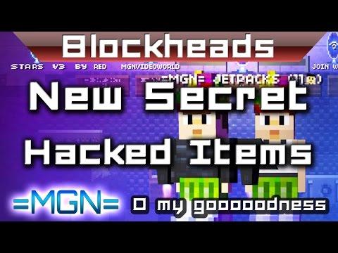 Blockheads 1.6 glitch - flax mats - a new secret hacked item!