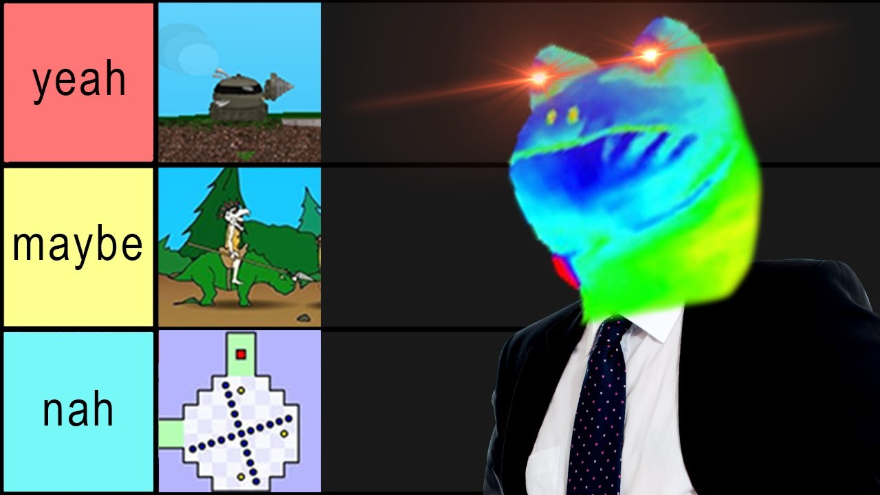 The Ultimate Flash Game Tier List