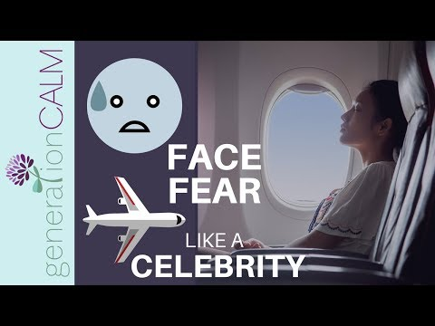Fear of Flying - how celebrities cope
