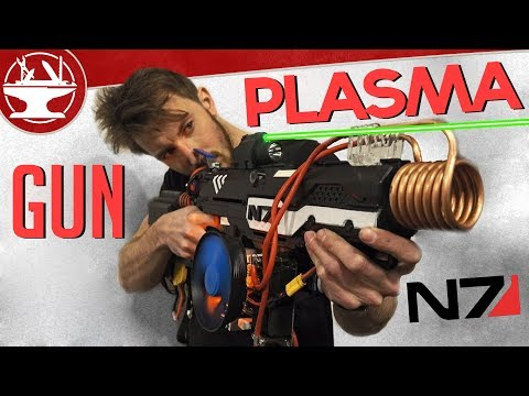 Mass Effect PLASMA RIFLE (Nerf Gun Mod)